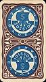 1900 circa Revers einer Spielkarte mit dem Logo und Umschrift Sossidi Cigaretten.jpg