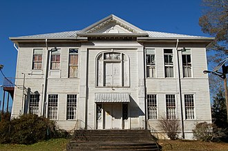 National Register of Historic Places listings in East Feliciana Parish, Louisiana - Image: 1903Clinton School