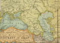 1904 Astrakhan detail Map of the Far East by JG Bartholomew BPL 12182.png