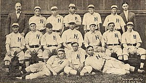 Nashville Vols - The 1908 team