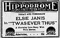 1915 - Hippodrome Theater Ad Allentown PA.jpg