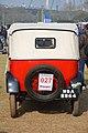 1933 Austin Seven Rear View - 7 hp - 4 cyl - WBA 8864 - Kolkata 2018-01-28 0960.JPG