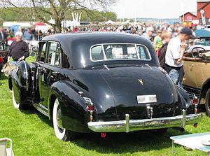 Cadillac Sixty Special - 1939 Cadillac 60 Special rear