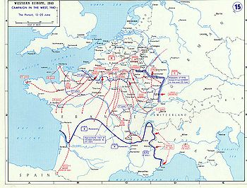 The German offensive in June sealed the defeat of the French.