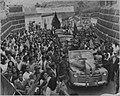 1947. Campaña electoral presidencial. Entrada a San Cristóbal, Táchira.jpg