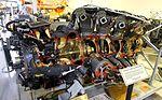 1955 Pratt & Whitney R-4360-CB2 aircraft engine - Hiller Aviation Museum - San Carlos, California - DSC03063.jpg