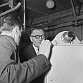 1958 visite du Ministre de l'agriculture au CNRZ-8-cliche Jean Joseph Weber.jpg