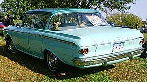 Rambler Classic - 1962 Rambler Classic 4-door sedan