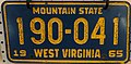 1965 West Virginia License Plate.jpg
