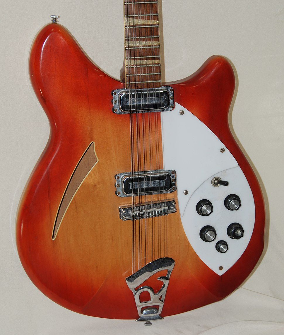 1967 Rickenbacker 360-12 12 string electric guitar owned and photographed by Greg Field