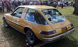 1975 AMC Pacer base model at 2012 Rockville h.jpg