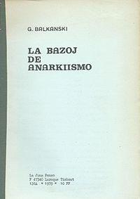 La Bazoj de Anarkiismo cover