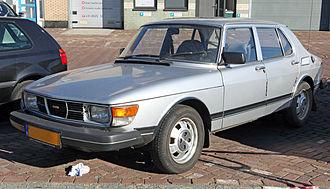 Saab 99 - Late (1982) SAAB 99 four-door sedan