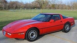 Chevrolet Corvette (C4) - 1984 Corvette Coupe
