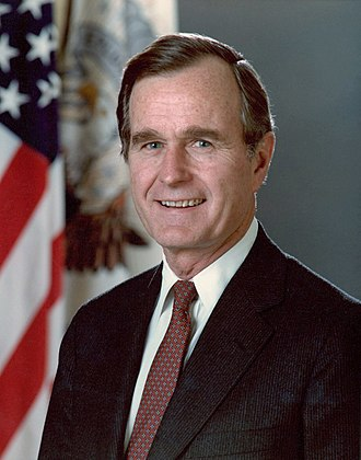 1988 United States presidential election in Oklahoma - Image: 1988 Bush