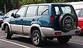 1994 Nissan Mistral TD Automatic 2.7 Rear.jpg