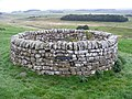 19th century well on English side of Hadrian's wall at Housesteads Fort - geograph.org.uk - 1532529.jpg