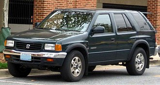 Honda Passport - Image: 1st Honda Passport