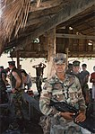 1st Platoon, A Company, 1st Battalion, 3rd Marines at Green Beach, Philippines in December 1989 P01.jpg