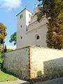 2. Janowiec, ogrodzenie kościoła.JPG