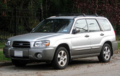 Subaru Forester II przed faceliftingiem
