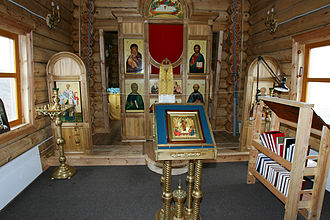 Trinity Church (Antarctica) - The interior of Trinity Church, 2005