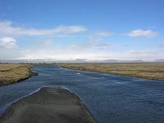 desert plain in Iceland