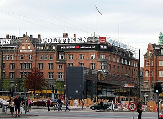 Politiken - Politiken building on The City Hall Square, Copenhagen