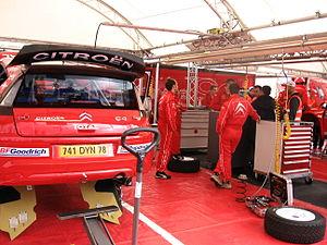 2007 Rally Finland preparations 02.JPG