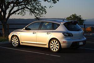 Mazdaspeed3 - 2008 Mazdaspeed3 Grand Touring (USA)