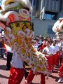2008 Olympic Torch Relay in SF - Lion dance 07.JPG