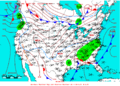 2009-03-14 Surface Weather Map NOAA.png