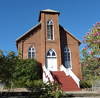 Copperopolis, California - Image: 2009 0724 CA Copperopolis Congregational