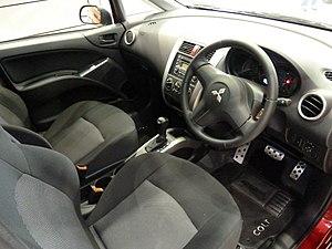 Mitsubishi Colt - Interior