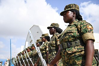 African Union Mission to Somalia (2007–present) - AMISOM soldiers at the 2012 Female Peacekeepers' Conference