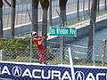 2012 Honda Grand Prix of St. Petersburg Helio Castroneves Dan Wheldon 1.JPG