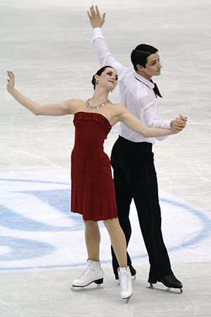 Free dance (figure skating) -  2010 Olympic Gold Medalists Tessa Virtue and Scott Moir performing their free dance in 2012.