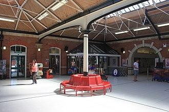 Felixstowe railway station - Inside the circulating area