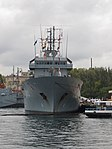 2013-08-30 Севастополь. Вспомогательное судно A512 Mosel ВМС Германии (3).JPG