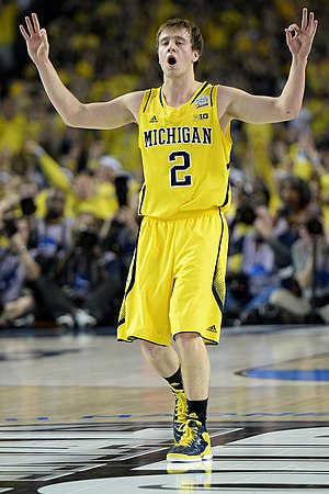 Spike Albrecht - Albrecht at the 2013 NCAA Tournament against Louisville