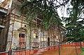 2014 giu Villa Pellegrini Marioni Pullè, Chievo, Verona, photo Paolo Villa wing, Doric - Tuscan order, pilaster strip, circular tympanum FOTO6310BIS.JPG