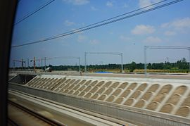 201606 Pingyuandong Station under construction.jpg