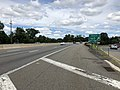 2018-07-21 12 41 11 View north along New Jersey State Route 444 (Garden State Parkway) at Exit 160 in Rochelle Park Township, Bergen County, New Jersey.jpg