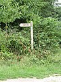 2018-08-19 Sign post, Paston way footpath, Gimingham.JPG
