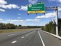 2018-10-24 13 28 05 View west along Virginia State Route 267 (Dulles Toll Road) at Exit 9A (Virginia State Route 28 SOUTH, Centreville, Manassas) in Dulles, Loudoun County, Virginia.jpg
