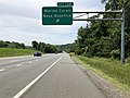 2019-05-29 12 05 28 View south along Interstate 95 at Exit 148 (Marine Corps Base Quantico) on the edge of Marine Corps Base Quantico in Prince William County, Virginia.jpg