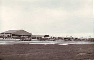 20th Reconnaissance Squadron - 0–1 Bird Dogs, flightline of the 20th Tactical Air Support Squadron at Da Nang Air Base RVN, in December 1966.