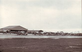 20th Attack Squadron - 0–1 Bird Dogs, flightline of the 20th Tactical Air Support Squadron at Da Nang Air Base, December 1966.