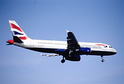 Airbus A320-200 der GB Airways