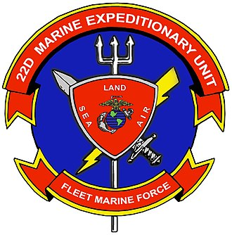 22nd Marine Expeditionary Unit - 22nd Marine Expeditionary Unit insignia